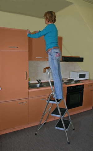 Лестница стремянка Toppy XL 3 ступени купить на выгодных условиях в Красноярске