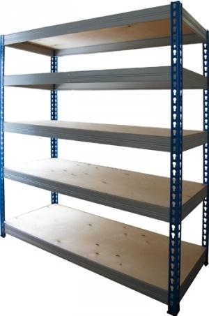 Стеллаж металлический складской 18615-2,0 купить на выгодных условиях в Красноярске