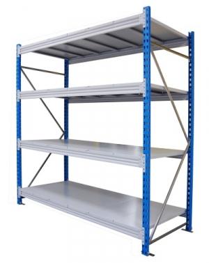 Стеллаж металлический складской 21104-2,5 купить на выгодных условиях в Красноярске