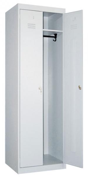Шкаф металлический для одежды ШР-22-800 купить на выгодных условиях в Красноярске