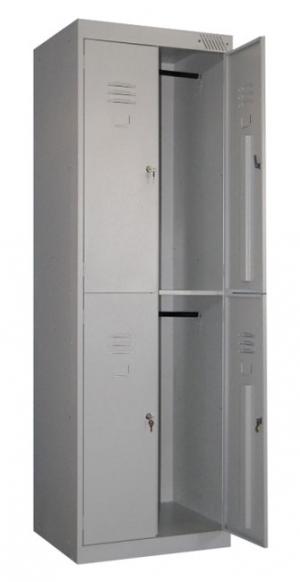 Шкаф металлический для одежды ШРK-24-800 купить на выгодных условиях в Красноярске