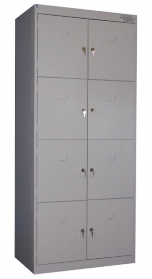 Шкаф металлический для сумок ШРК-28-800 купить на выгодных условиях в Красноярске